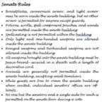 Senate Rules